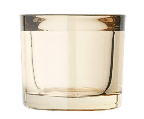 Blomus - MIMO - Windlicht / Teelichthalter / Kerzenhalter - Normad Beige - Glas - (DxH): 6 x 6,5 cm