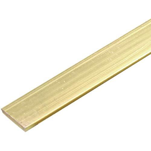LOKIH Messingstangen Metall Messing Thermischer Zustand Kunststoff 4Mmx4mmx500mm