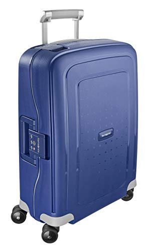 Samsonite S'Cure - Spinner S Hand Luggage, 55 cm, 34 Litre, Dark Blue