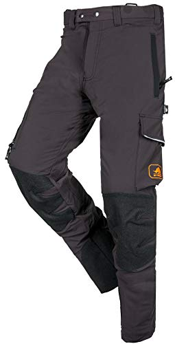 SIP Protection Progress Arborist Chainsaw Pants in Grey (Large)