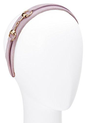 L. Erickson USA Suede Bit Headband - Pale Lavender