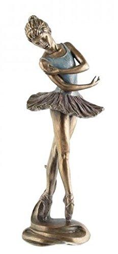 Art Deco Bronzen Ballet Beeldje Beeldje Beeld Ballerina Ornament
