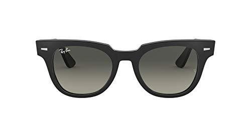 Ray-Ban 901/71 Gafas de Sol, Black, 49 Unisex