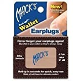 Macks - Roll-ups Wallet Earplugs - 4-pair Box by Macks