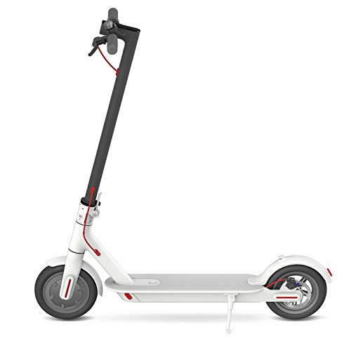 Xiaomi Mi Scooter Folding Electric Scooter, 30 Km of Autonomy, Speed ​​up to 25 Km / h, White