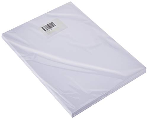 Bramacartuchos Sub125g - Pack de 100 hojas de papel sublimación economico, A4, color blanco