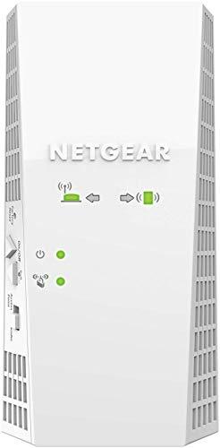 Netgear EX6420 AC1900 Ripetitore Wifi Wireless, Wifi Extender Dual band, Porta Lan, Amplificatore Wifi Mesh Compatibile con Modem Fibra e Adsl