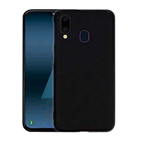LAYJOY Funda Samsung Galaxy A40, Ligera Carcasa Silicona Suave TPU Gel Bumper Case de Protectora [Antideslizante] [Anti-Golpes] Cover para Samsung Galaxy A40 (2019) 5.9 Pulgadas -Negro