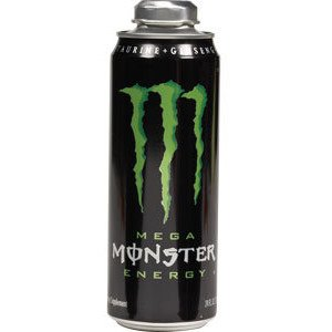 Monster Mega Energy Drink, 24 oz (Pack of 12)