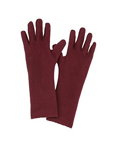 NIKE Cold Weather Fleece Guantes, Unisex Adulto, Rojo, Large