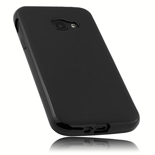 mumbi Hülle kompatibel mit Samsung Galaxy Xcover 4 / 4s Handy Case Handyhülle, schwarz