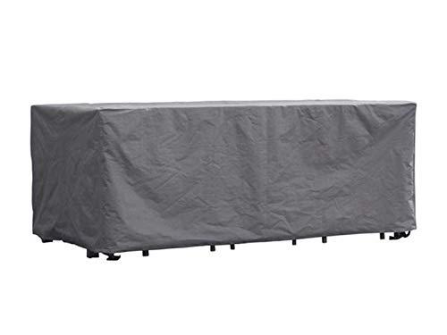 Perel Garden OCGS Schutzhülle Für Rechteckiges Lounge-Set - XXL, Schwarz, 310 x 185 x 95 cm