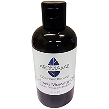 De-Stress Massage Oil 125ml with Lavender, Sweet Orange and Bergamot