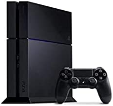 Sony PlayStation 4 Console, Renewed, Black
