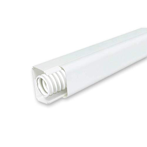 Vecamco clima plus - Canal 35x30 descarga condensación blanco (en barra 2m)