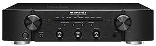 amplificatore stereo hi fi 2 x 45 Watt (8 ohm RMS) ingressi digitali, ingresso Phono MM Uscita Cuffie Telecomando incluso