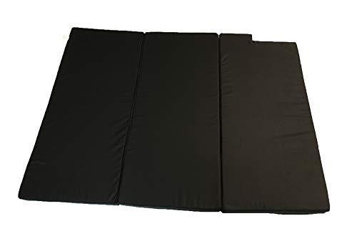 Mayaadi Home Schlafauflage Faltmatratze geeignet für Mercedes V-Klasse Matratzenauflage 185x138x8cm MH-SAMVK Schwarz