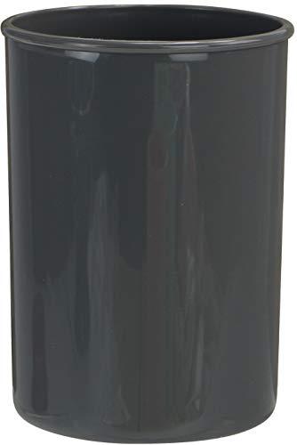 Reston Lloyd Plastic Holder Utensil Jar Gray