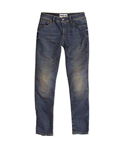 Helstons Motorrad Jeans Motorradhose Motorradjeans Dena Dirty Damen Jeanshose blau 26, Herren, Chopper/Cruiser, Ganzjährig, Textil