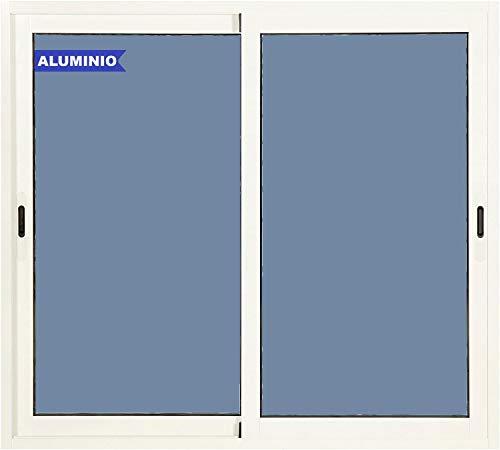 Ventana Aluminio Corredera 800 ancho x 800 alto 2 hojas