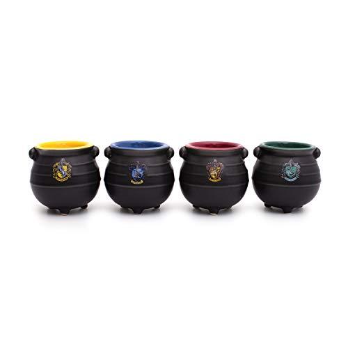 Thumbs Up Harry Potter Set di 4 tazze da espresso a forma di vasetto magico HAPOMINI4