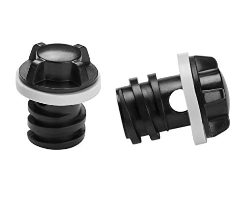 2 X Drain Plugs Replacement Fit for RTIC Coolers Refrigerator