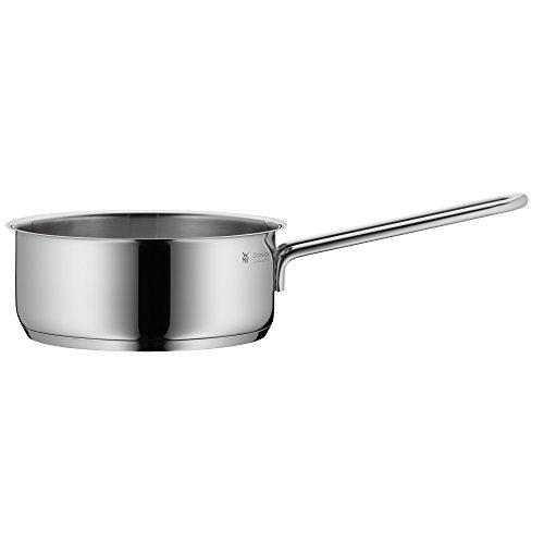 WMF Mini Stielkasserolle 14 cm ohne Deckel, Kochtopf klein 0,9l, Milchtopf, kleiner Topf für Singlehaushalt, Cromargan Edelstahl, Induktion, stapelbar