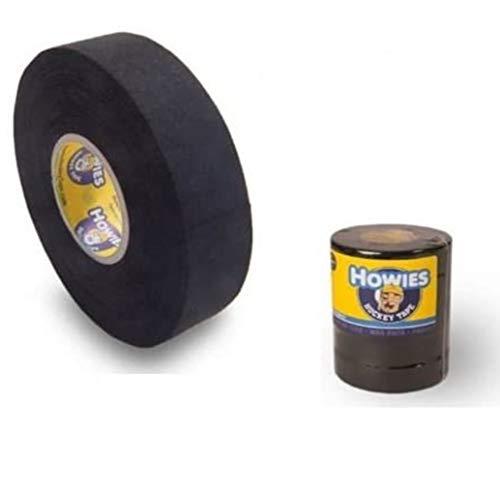Howies 5X Schlägertape Cloth Hockey Tape 25mm f. Eishockey Black, je18,2m