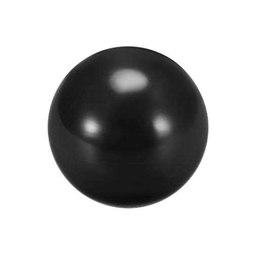 uxcell Joystick Ball Top Handle Rocker Round Head Arcade Fighting Game DIY Parts Replacement Black