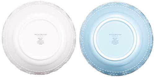 【正規輸入品】ウェッジウッドフェスティビティボール15cmペアアイボリー・ブルー結婚祝いプレゼント1053887