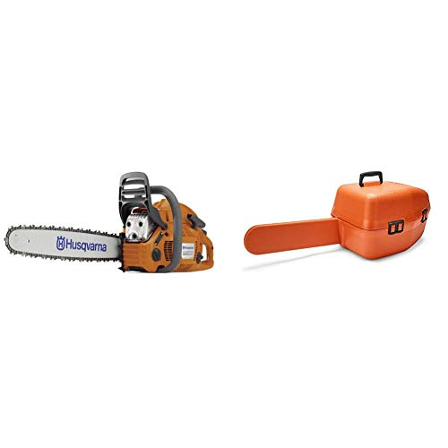 Best Review Of Husqvarna 455 20 in. 55.5cc Gas Chainsaw with Classic Carry Case