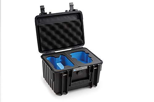 B&W Maletín de Transporte Exterior para dji Mini 2 Tipo 2000, Color Negro/Resistente al Agua según certificación IP67