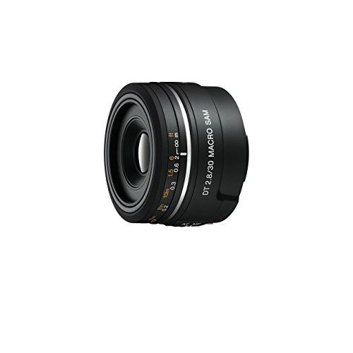 Sony SAL30M28 - Objetivo para Sony (Distancia Focal Fija 30mm, Apertura f/2.8-22, diámetro: 49mm) Negro