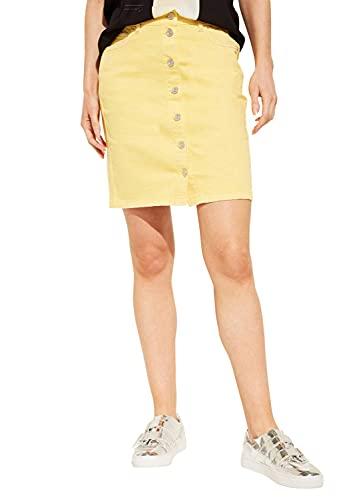 Comma Ci 88.904.78.8540 Falda Amarillo (Sun 1333) 36 (Talla del Fabricante: 34) para Mujer