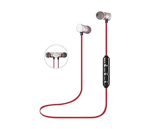 BSL Auriculares Bluetooth | Micrófono Integrado | Super Ligeros | Deportivos | Cierre Magnético | Comodidad Transporte |