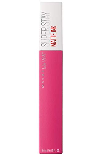 Maybelline New York Super Stay Matte Ink Lippenstift, Nr. 30 Romantic