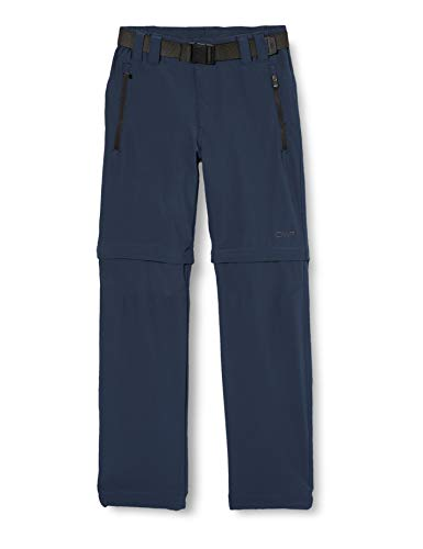 CMP Jungen Zip Off Dry Function Trousers Hose, Blue Cosmo, 152