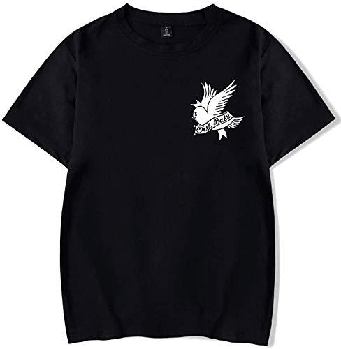 Unisex T-Shirt R.I.P Lil Peep Cry Baby Rapper Hip Hop Frühling Herren T-Shirt Harajuku Casual T-Shirt Damen/Herren Print Kleidung