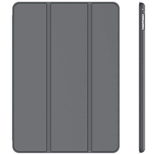 JETech Hülle kompatibel mit iPad Pro 9.7, Ständerfunktion, Auto-Schlafen/Wachen, Dunkelgrau