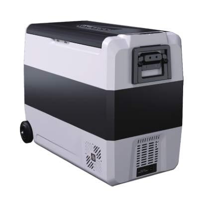GNLIAN HUAHUA refrigerador 36/50 / 60L AC DC12 / 24V Auto Portátil Camping Picnic al Aire Libre RV Viajar Hogar Refrigerador Congelador Congelador Caja Mini Frigorífico (Color Name : 60Liters)