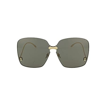 Fashion Shopping Gucci GG0352S Sunglasses 001 Gold / Grey Lens 99 mm