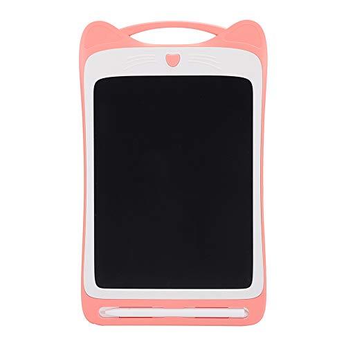 CCYLEZ Tablero de Escritura a Mano LCD, Tablero de Escritura de 8.5 Pulgadas, Tablero de Dibujo electrónico, Pantalla LCD Flexible, Ligero, con Estilo de Moda, para Ahorrar Papel(Rosa)