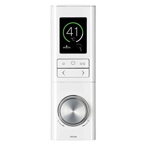 Triton Host Digital Mixer Shower | Multi Outlet, High Pressure - White