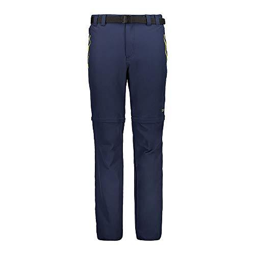 CMP Pantalon de randonnée zippé pour Homme 5XL Corail