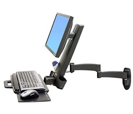 45-230-200 Ergotron 45-230-200 Series Combo Arm Black Home Audio