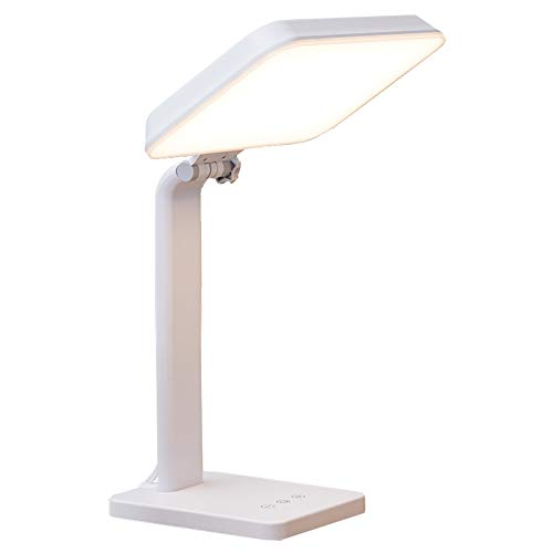 Theralite Aura Bright Light Therapy Lamp - 10,000 LUX LED Lamp - Sun Lamp Mood Light to Fight Low Energy and Sunlight Deprivation