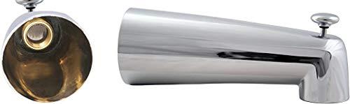 Westbrass 7' Diverter Tub Spout, Polished Chrome, E507D-1F-26