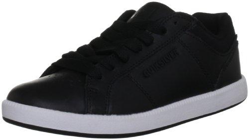 Quiksilver Little Area 5 Slim Action KRBSL172, Jungen Sneaker, Schwarz (Black/WHT/Black), EU 38