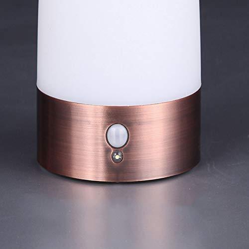 XHSHLID Led-bedlampje met bewegingsmelder, werkt op batterijen