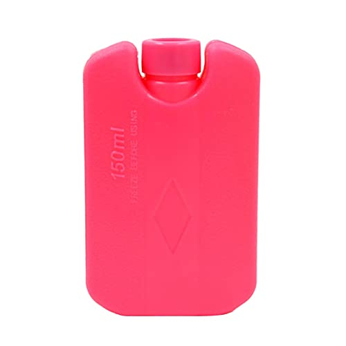 Raspbery Bolsa De Hielo Gel Reutilizable Caja De Cristal De Hielo, PE Gel Reutilizable Sin BPA, Se Utiliza En Refrigeradores De Viaje Almuerzo, Bolsas De Almacenamiento En Frío Cajas Polite
